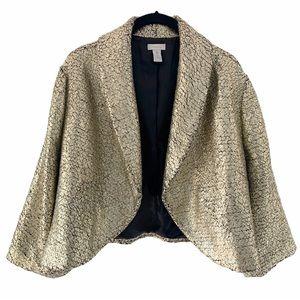 Chico's Jackets & Coats - CHICO'S TRAVELERS HOLLY GOLD BOLERO JACKET 3 = 16